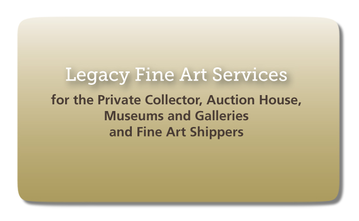 Legacy Fine Art Services: Brand & Marketing Collateral