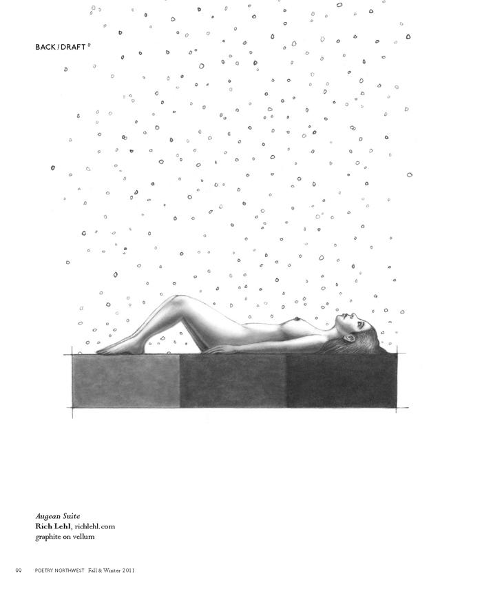 Poetry Northwest: Magazine Cover & Editorial Illustrations
