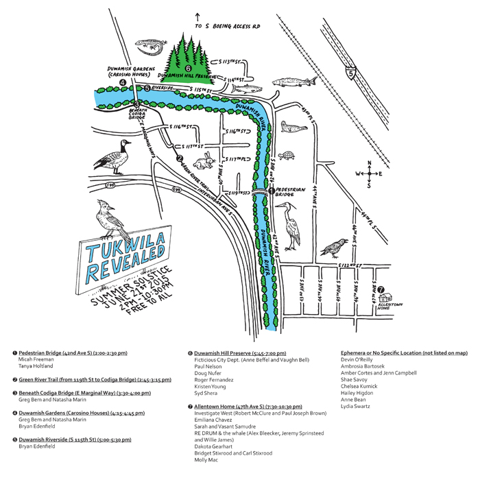 Tukwila Revealed Event Map